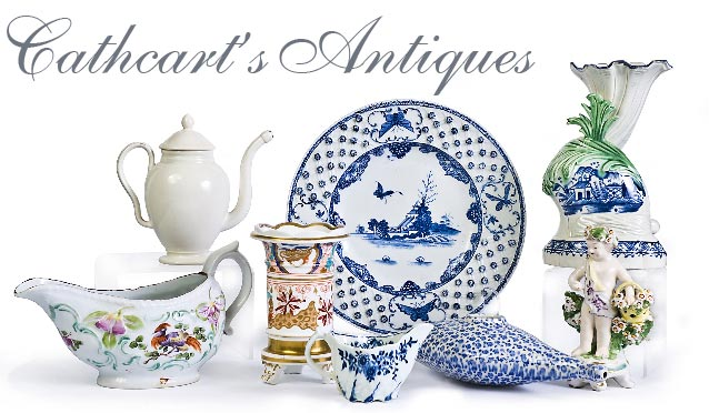 antique porcelain, pottery and ceramics from Cathcarts Antiques